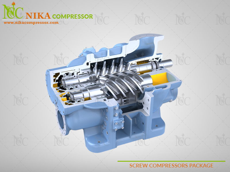 SCREW COMPRESSOR PACKAGE